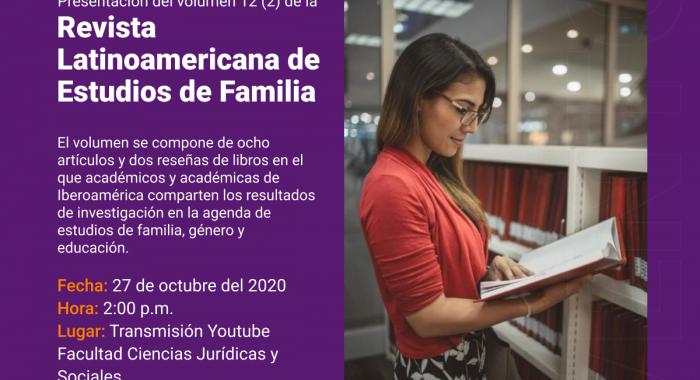 Presentación del Volumen 12 (2) de la Revista Latinoamericana de Estudios de Familia
